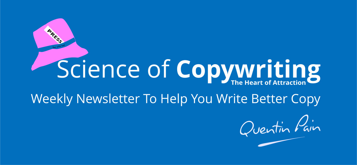 Science of Copywriting Weekly Newsletter header image
