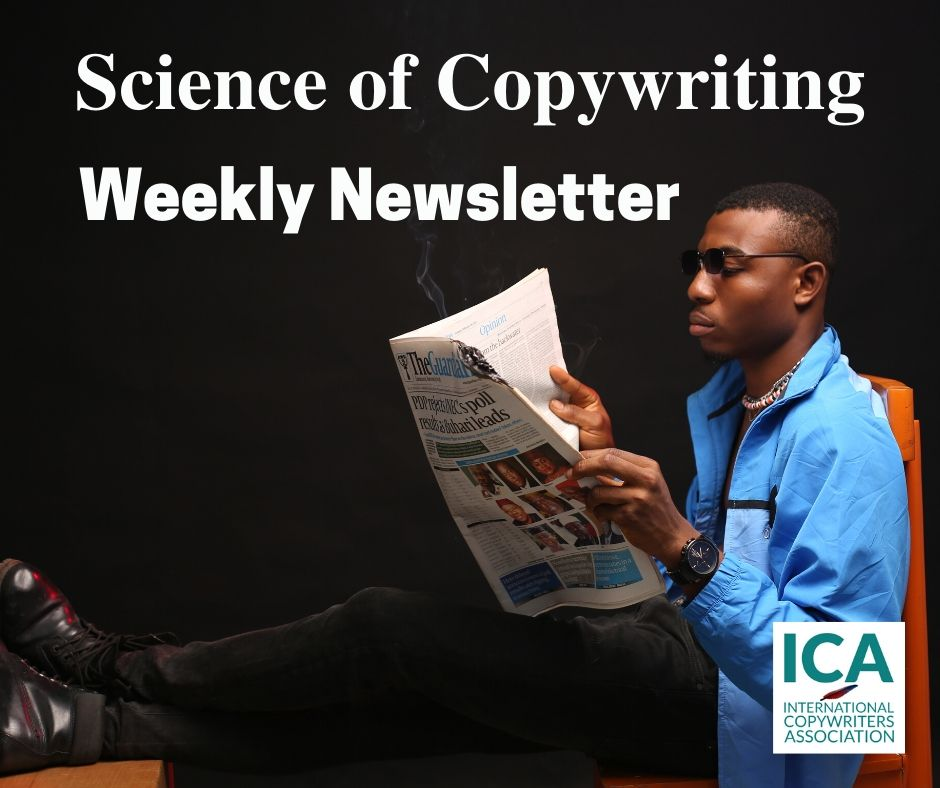 Science of Copywriting Weekly Newsletter
